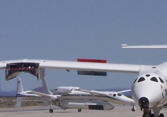 Scaled Composites Proteus at Mojave Airport