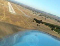 Turning Final at Paso Robles