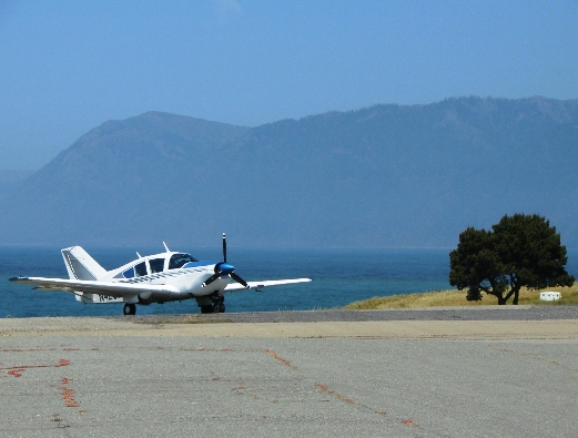 Bellanca Super Viking at Shelter Cove California