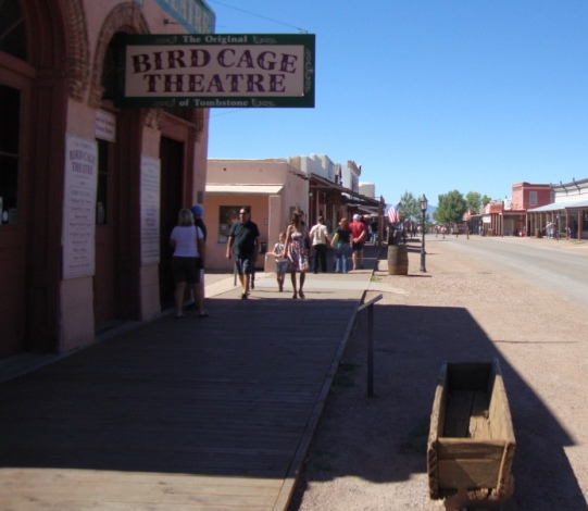 The Bird Cage Theatre Tombstone AZ