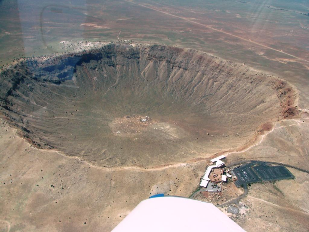 asteroid crater in mexico - photo #5