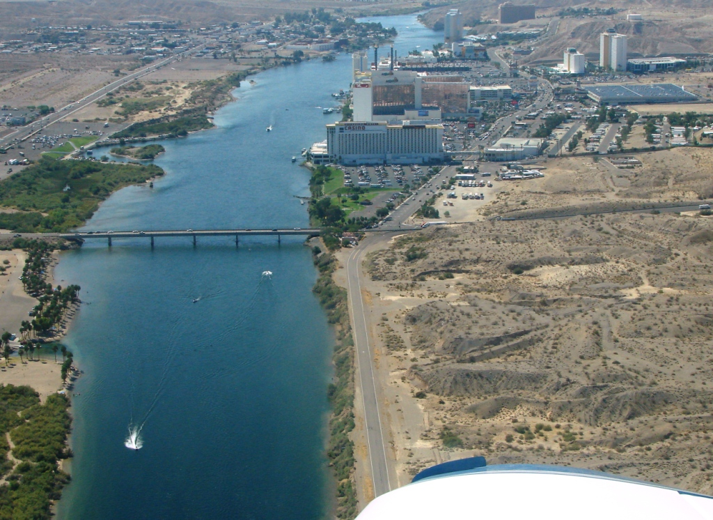 Landing At Bullhead City Az